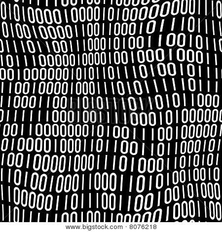 binary Code-Muster