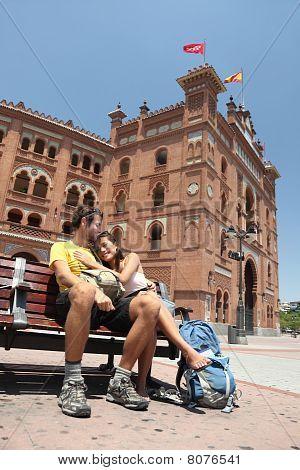 Madrid Tourists - Plaza De Toros De Las Ventas, Spain