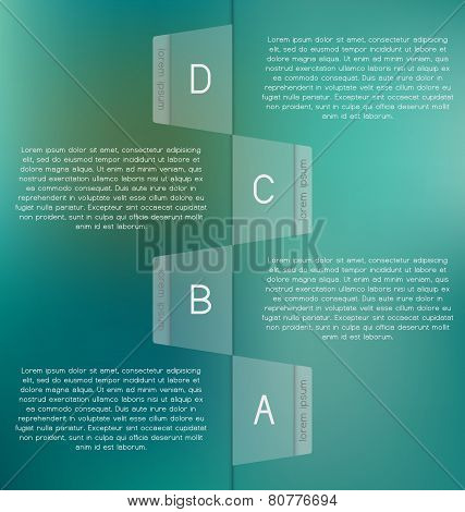 Modern, Clear Template. Can Be Used For Infographics, Websites Elements, Presentations, Comparison,