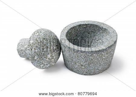 Drug Grinding Mortar And Pestle