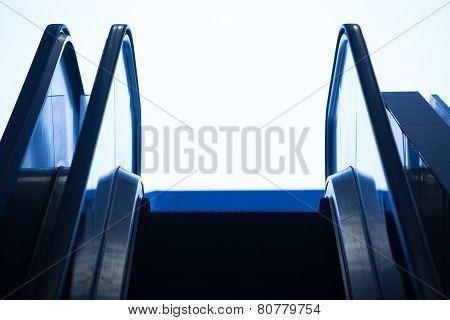 Top Of An Escalator