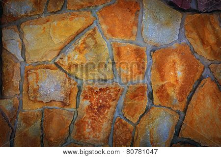 Old Stonework - abstract natural background