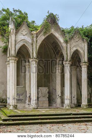 Gothic Temple In Villa Celimontana, Rome