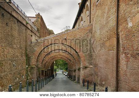 Arcaded Street, Rome