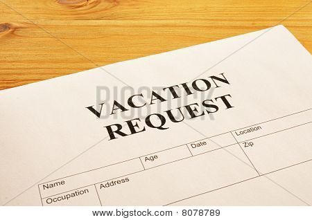 Vacation Request