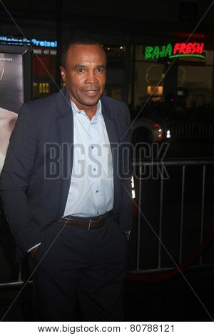 LOS ANGELES - JAN 20:  Sugar Ray Leonard at the