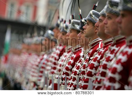 Bulgaria Sofia Guards Of Honor