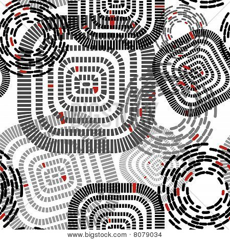Seamless Pattern With Squeres And Circles.eps