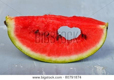 Loving The Watermelon