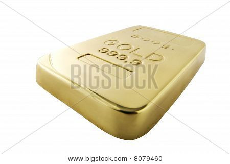 Gold Ingot | Isolated