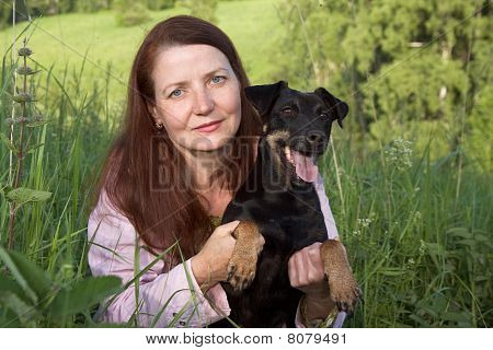 The Woman With A Dog