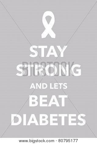 diabetes poster poster
