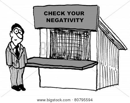 Check Your Negativity