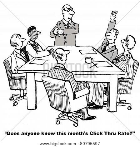 Digital Click Thru Rate