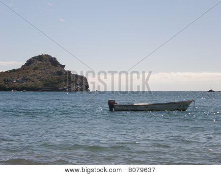Lone Row Boat