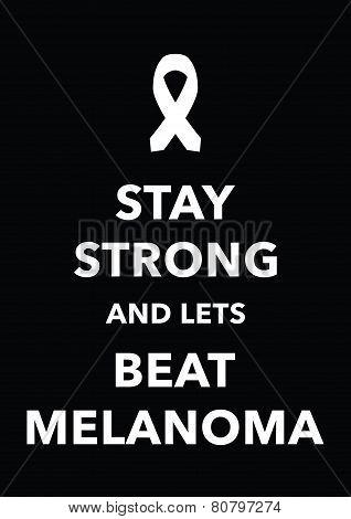 melanoma poster