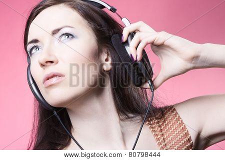 Girl with Headphones
