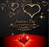 foto of dinner invitation  - Valentines Day background for dinner invitations - JPG