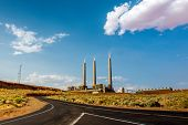 foto of fire-station  - The coal fired Navajo Generating Plant is said to be one of the 12th  - JPG
