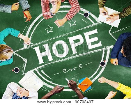 Hope Worship Prayer Spirituality Pray Concept