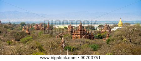 Sea Of Pagodas And Temples In Bagan