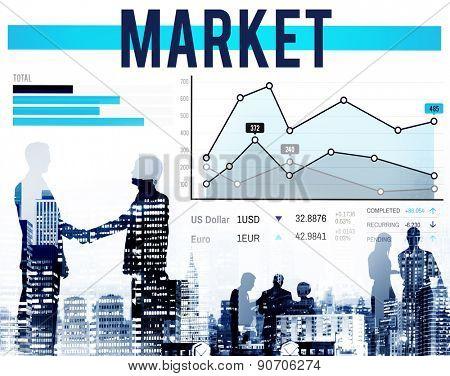 Market Marketing Data Analysis Consumer Concept