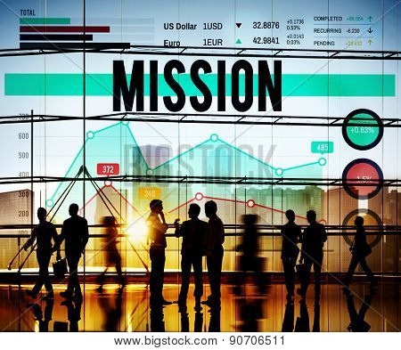 Mission Marketing Planning Strategy Business Concept