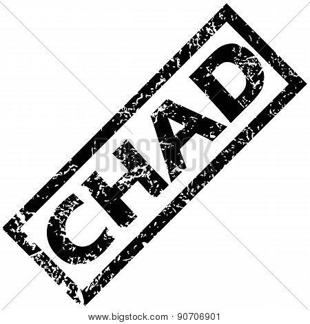 CHAD stamp