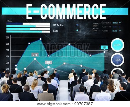E-commerce Online Technology Marketing Business Concept
