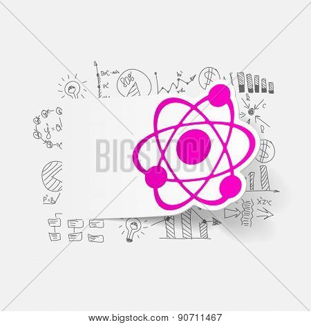 Drawing business formulas: atom