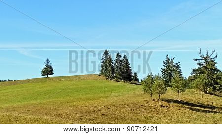 Meadows And Forests In Slovakia.