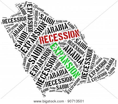 Expansion And Recession In Saudi Arabia.