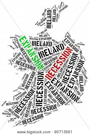 Expansion And Recession In Ireland.