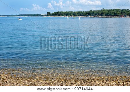 Istria Peninsula Beach In Porec
