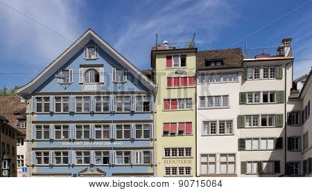 Buildings In Zurich Old Town
