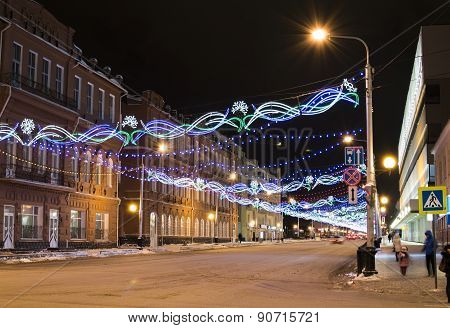 Night Festive City