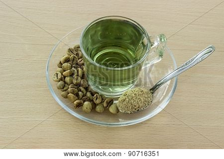 Drink From Green Coffee.