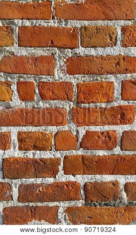 Texture Of Ancient Brick Wall
