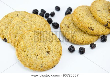 Integral Cookies With Aronia