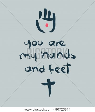 You Are My Hands And Feet B
