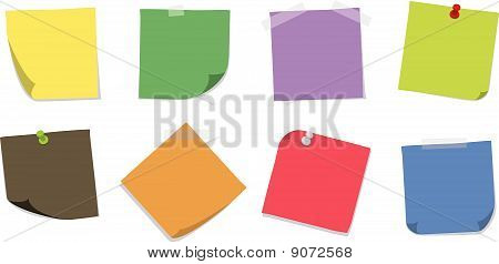Various Sticky Notes