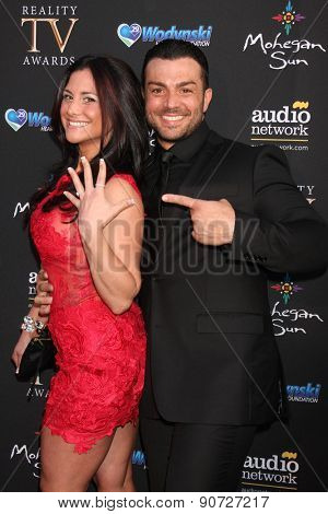 LOS ANGELES - MAY 12:  Ashley Gordon, Matt Cucolo at the Children's Justice Campaign Event at the Private Residence on May 12, 2015 in Beverly Hills, CA