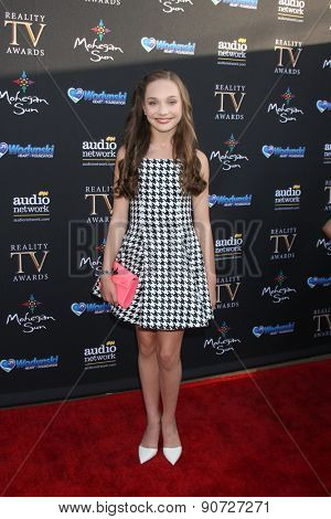 LOS ANGELES - MAY 12:  Maggie Ziegler at the Children's Justice Campaign Event at the Private Residence on May 12, 2015 in Beverly Hills, CA