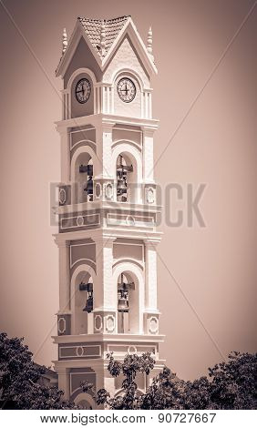 Spanish Bell Tower, Mexico