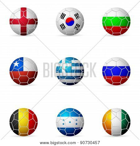 Soccer Ball Flag