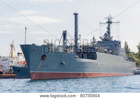 Ukraine, Sevastopol - September 02, 2011: Maritime Transport Weapons
