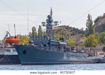 Ukraine, Sevastopol - September 02, 2011: Marine Minehunters