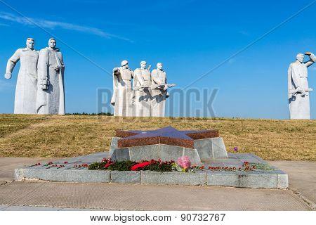 Panfilov Heroes Memorial