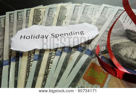Holiday Spending Concept