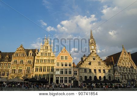 Ghent city view